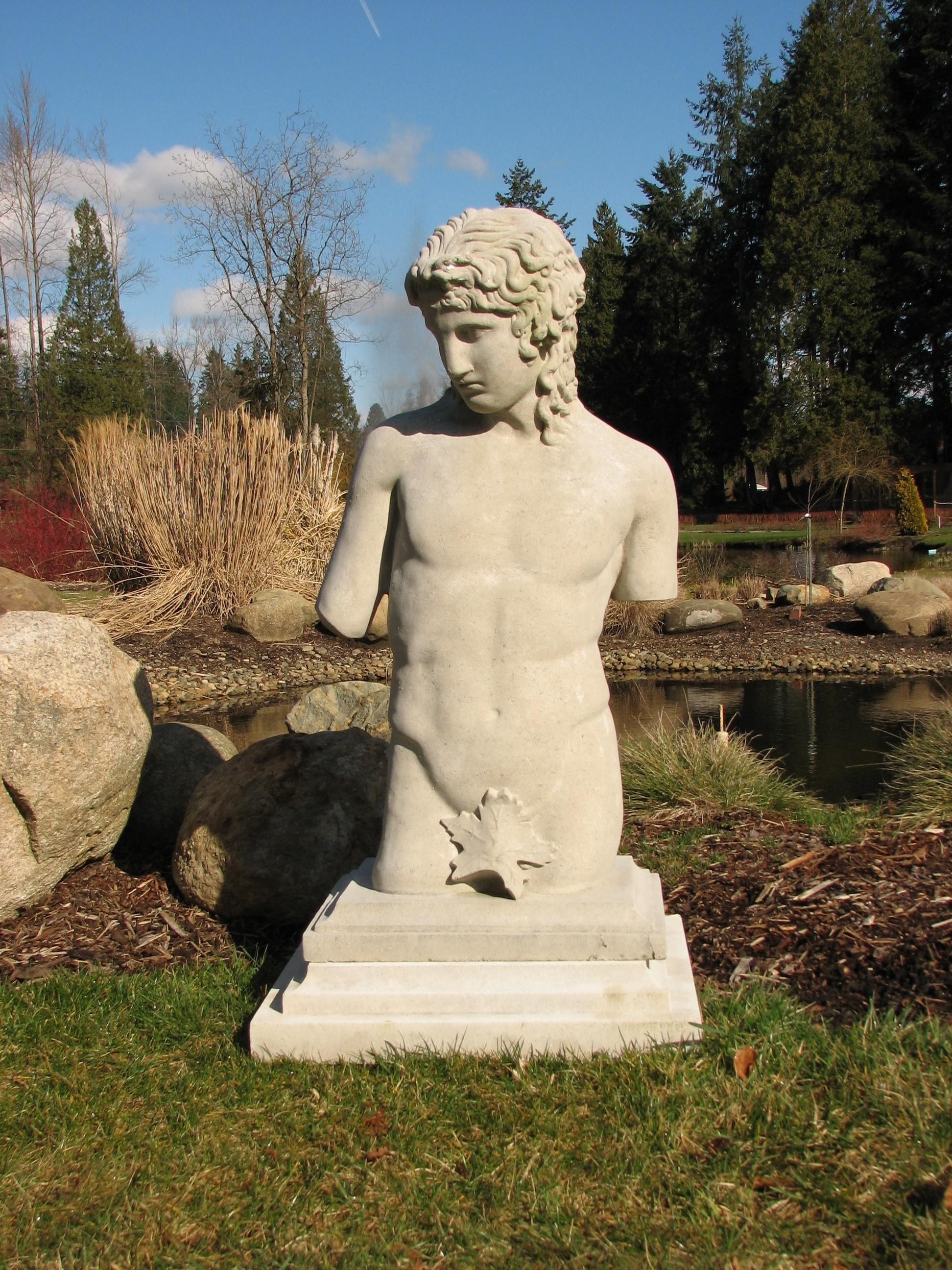 Eros Torso, Limestone