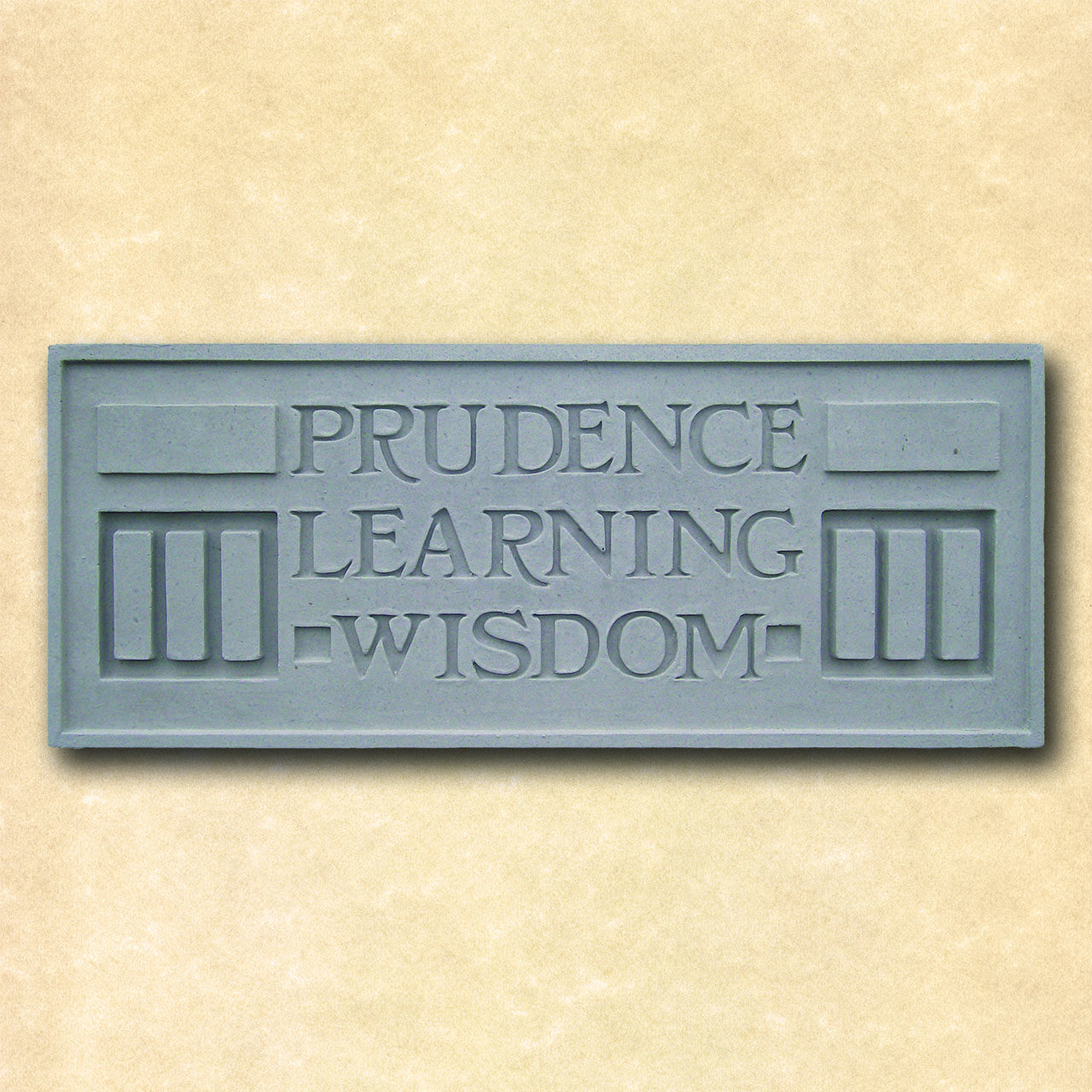 Larkin Prudence Learning Wisdom Plaque