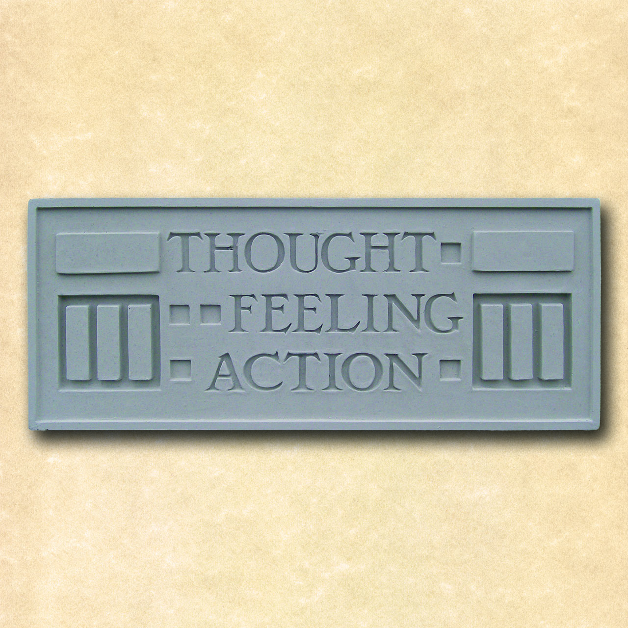 Larkin Thought Feeling Action Plaque