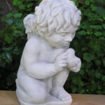 Cherub With Bird Ag