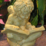 Cherub With Book Wb
