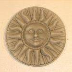 Compass Sun Plaque Ag