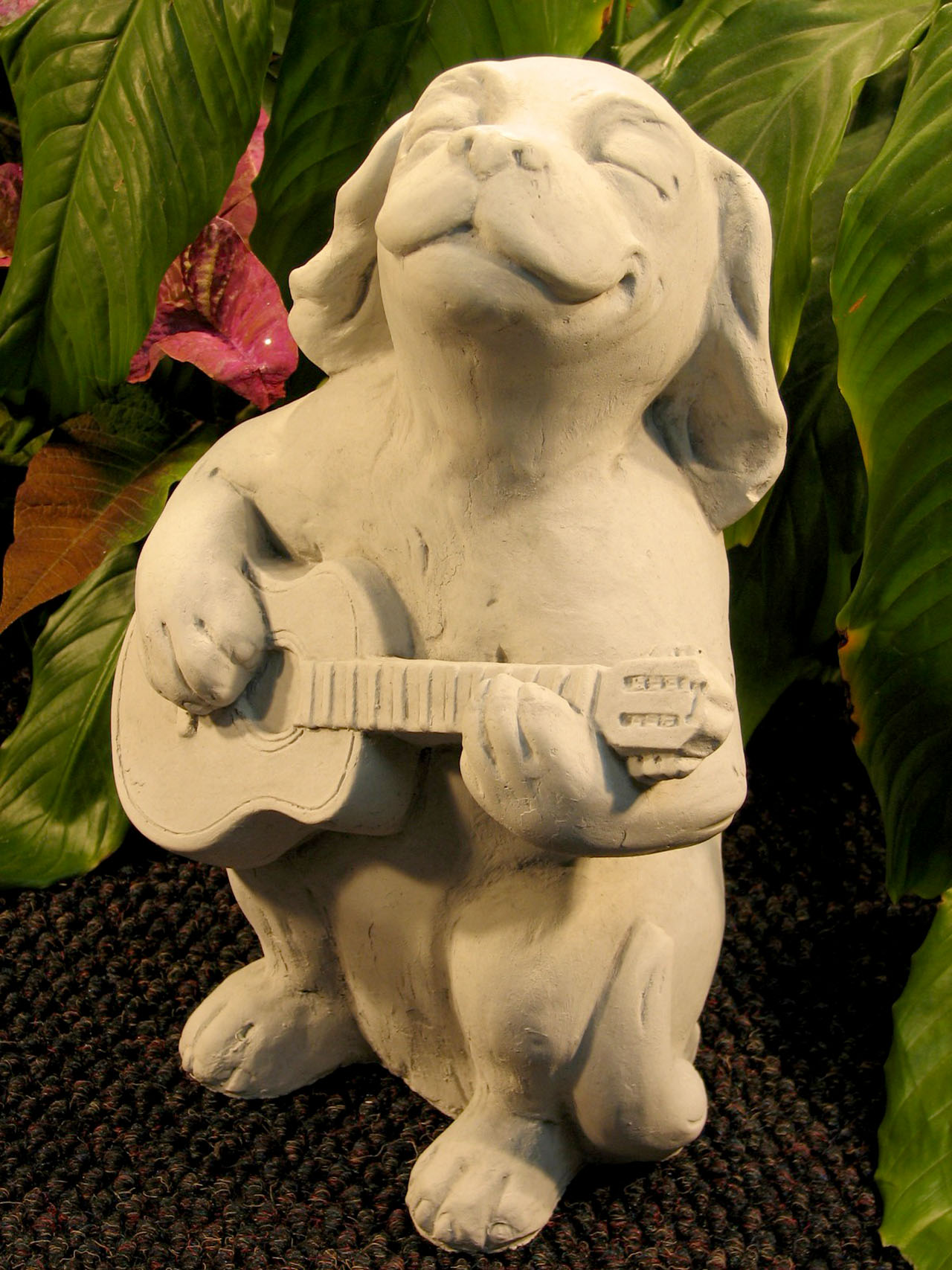 Dog With Guitar Ag