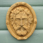 Greenman Mini Plaque Wb
