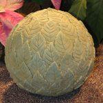 Leaf Ball Finial Wb