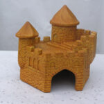 Medieval Castle Toad House Tc
