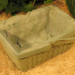 Picnic Basket Planter Wb
