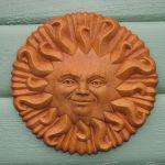 Smiling Sun Plaque Tc