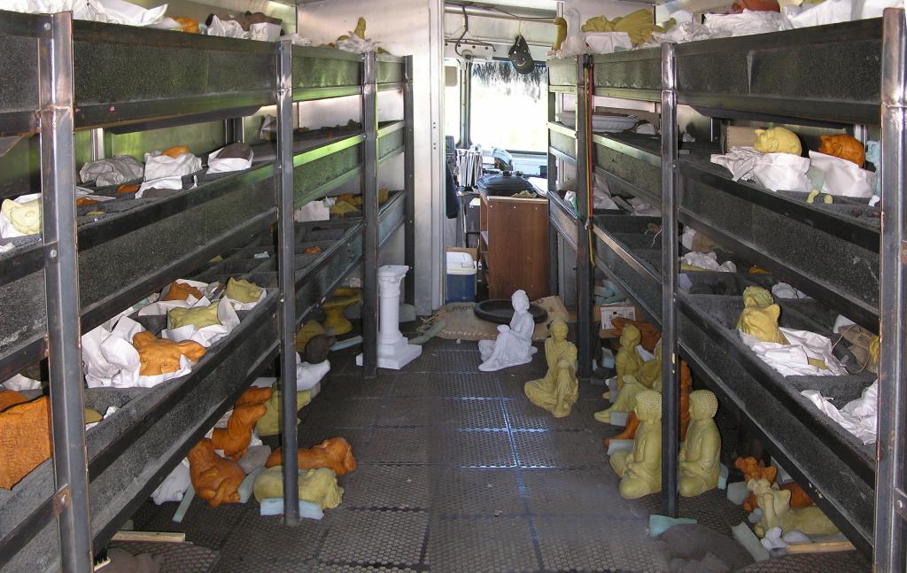 Stonewagon Van Inside