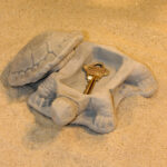 Turtle Keyholder, Open Ag