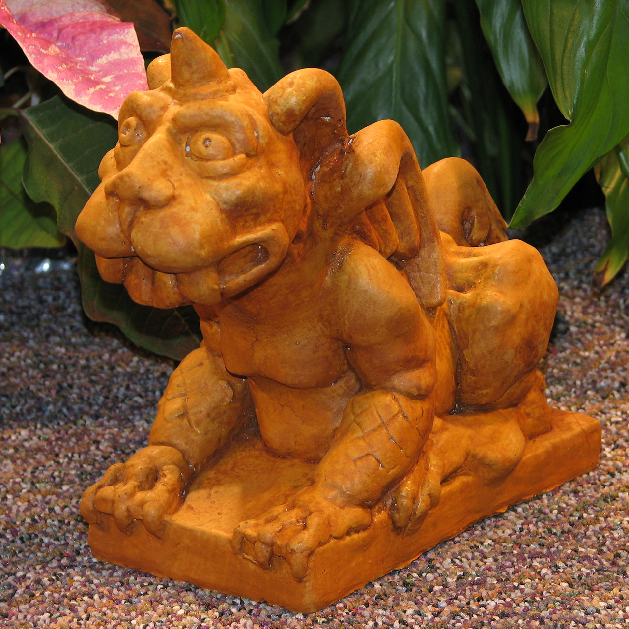 Winged Dog Gargoyle Small Tc