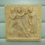 3 Muses Plaque Wb