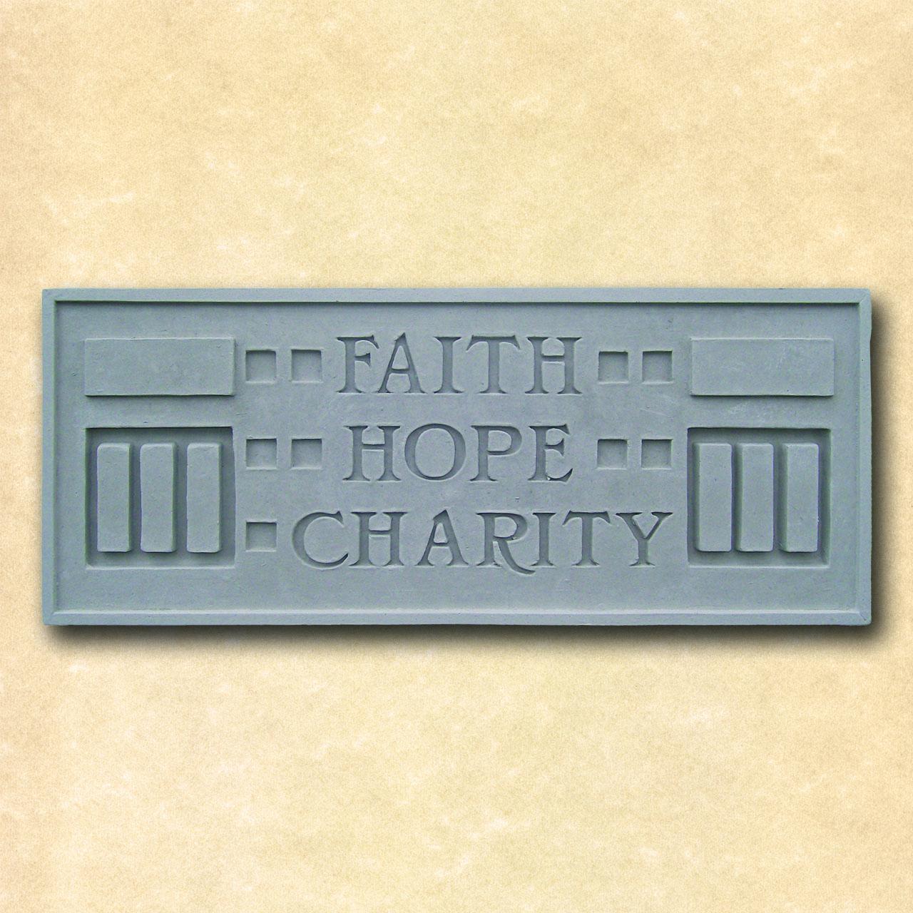 Larkin Faith Hope Charity Plaque