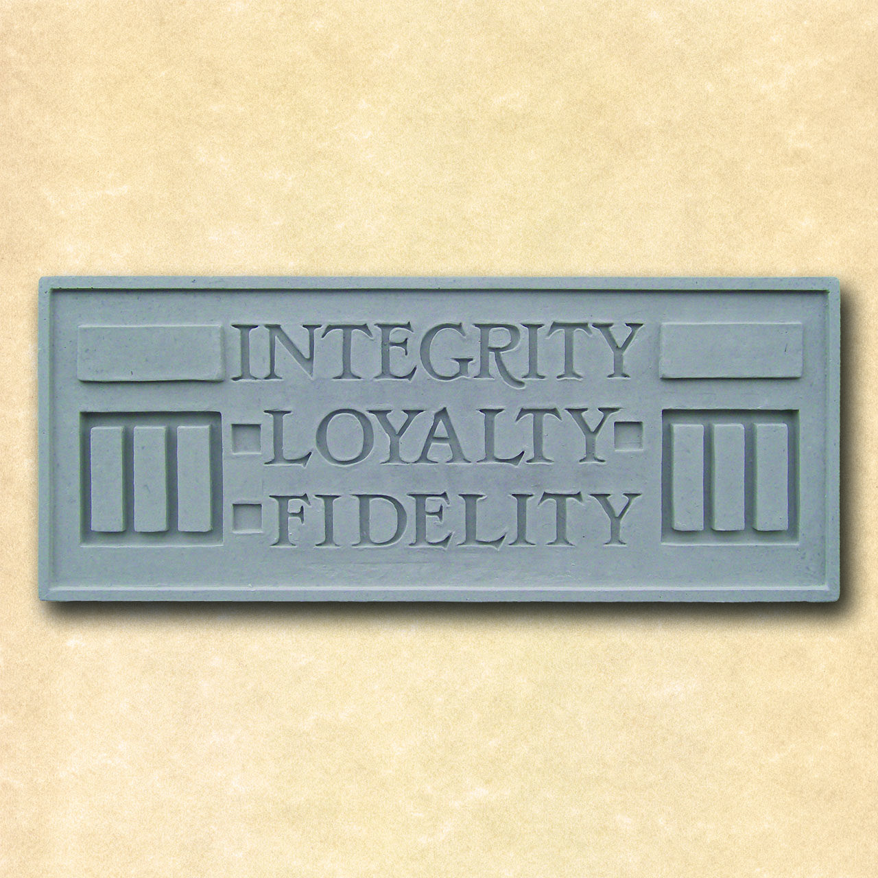 Larkin Integrity Loyalty Fidelity Plaque