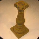 Baluster Gazing Globe Pedestal Wb