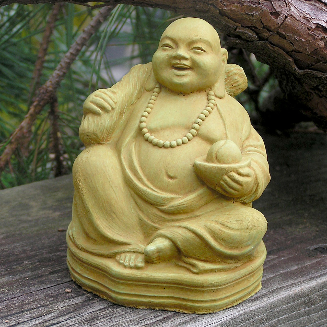 Buddha Of Good Fortune Wb