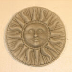 Compass Sun Plaque Ag