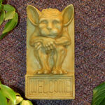 Irving Welcome Plaque Small Wb