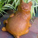 Reclining Happy Fat Cat Tc