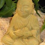 Seated Jizo Wb